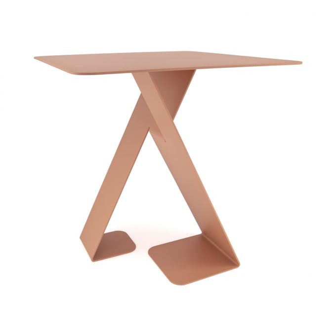 dance red brown table